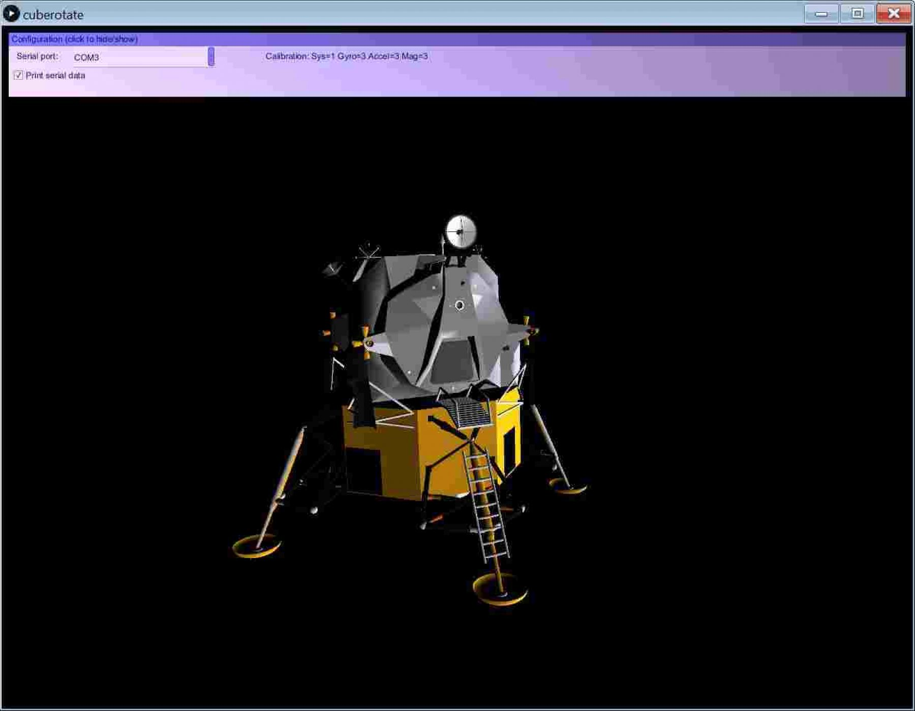 Driving a 3D Lunar Lander Model with ARM and Ada - The AdaCore Blog