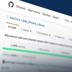 Getting started with the Ada Drivers Library device drivers - The